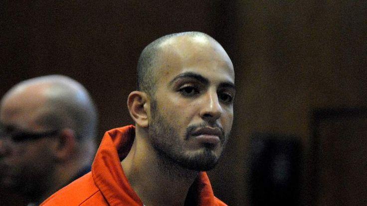 Terror suspect Ahmed Ferhani is seen dur