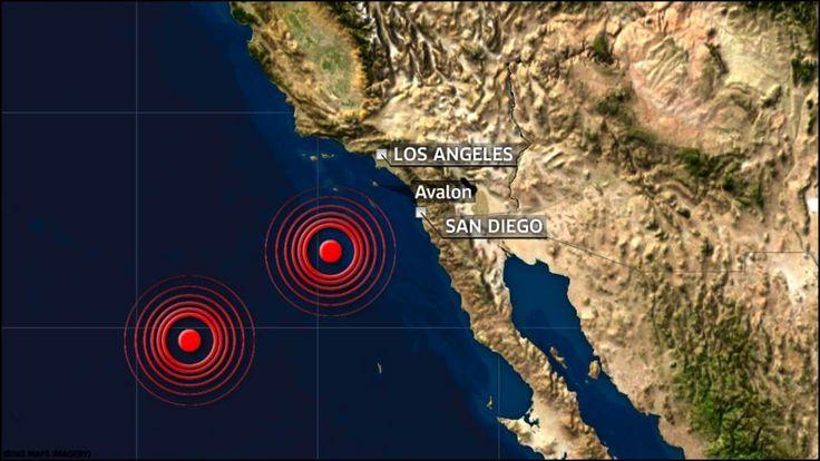West Coast earthquakes