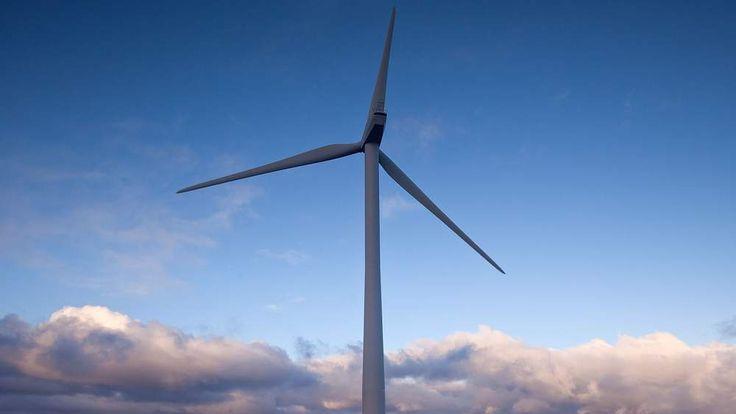 A wind turbine. (File picture)