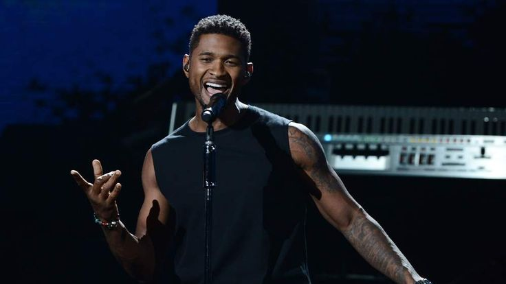 Usher performs onstage at the BET Awards July 2012