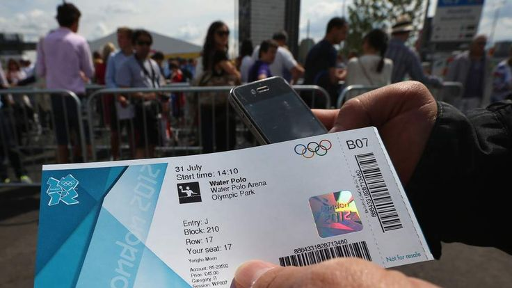 Olympic ticket