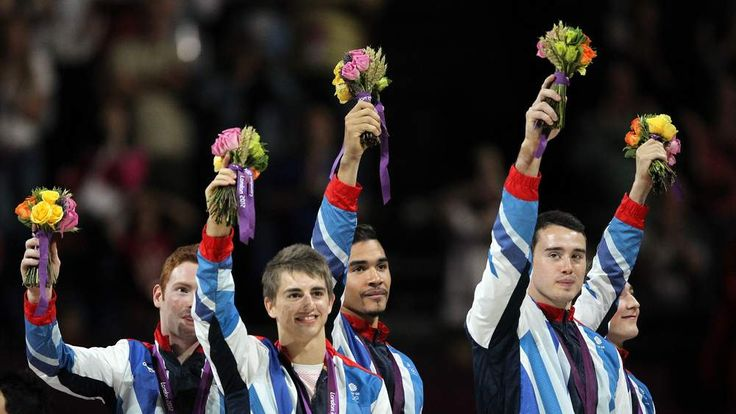 Britain's men's gymnastics team win bronze at Olympics