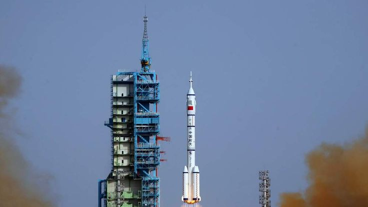 Shenzhou-9 -- China's fourth manned space mission -- blasting off