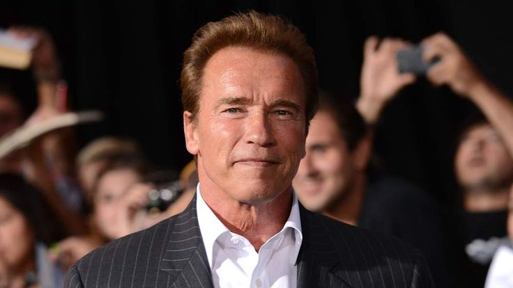 Arnold Schwarzenegger arrives at The Expendables 2 premiere in Hollywood