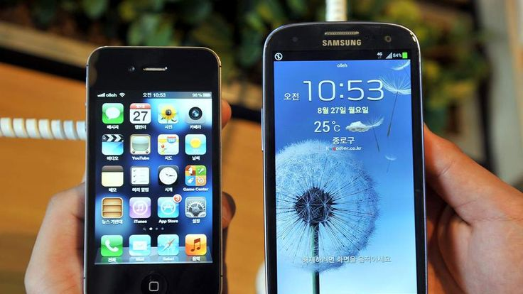 iPhone 4s And Galaxy S III