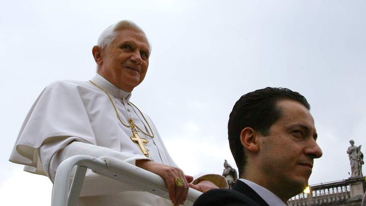 The Pope and Paolo Gabriele