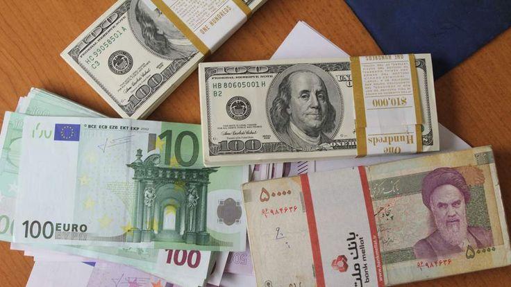 US dollars and Iranian rials