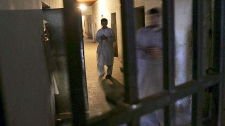 An Afghan jail