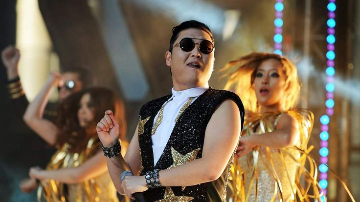 Psy performs for fans in Sydney