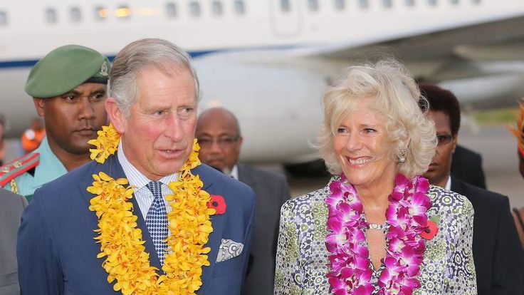 Prince Charles and Camilla Duchess of Cornwall in Papua New Guinea