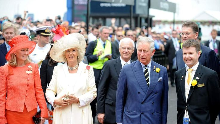 Prince Charles And Camilla Duchess Of Cornwall At Melbourne Cup