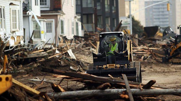 Sandy Rockaway demolition