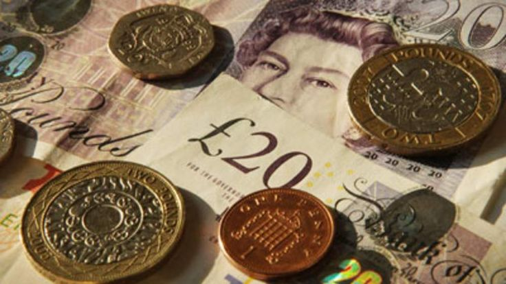 Cash, notes and coins, pounds