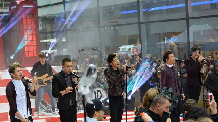 One Direction at Rockefeller Plaza