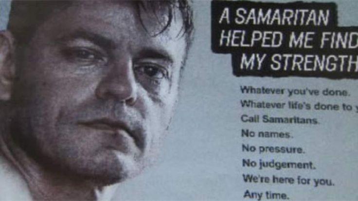 Samaritans Anti-Suicide Suicide Campaign Poster