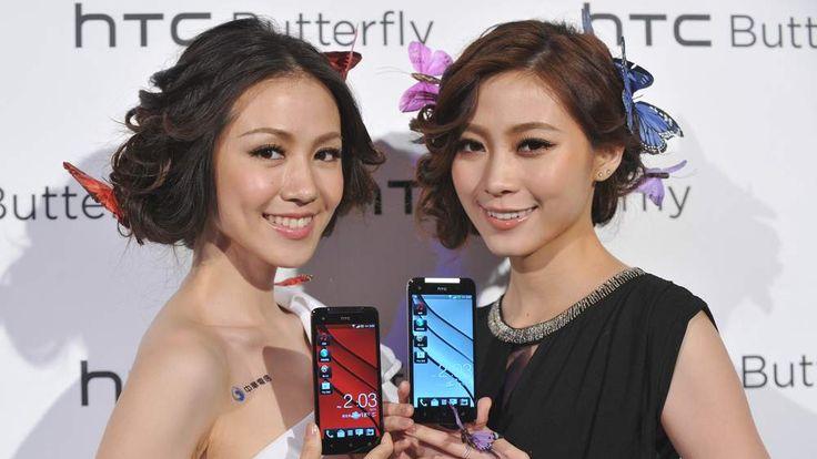 HTC Butterfly smartphone