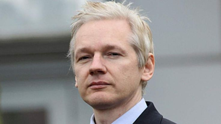 WikiLeaks founder Julian Assange pictured outside court