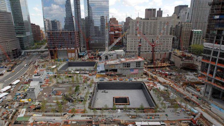 The 9/11 Memorial at Ground Zero