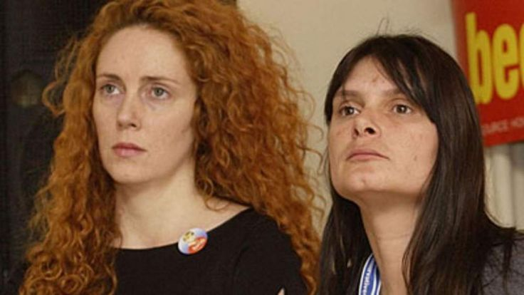 Rebekah Brooks and Sara Payne, mother of murdered child Sarah Payne