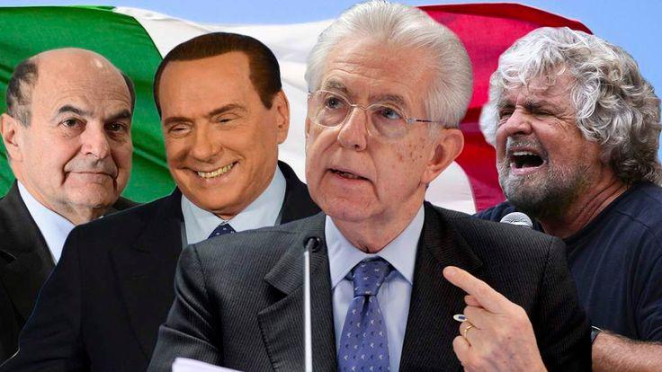Italian Prime Ministerial candidates