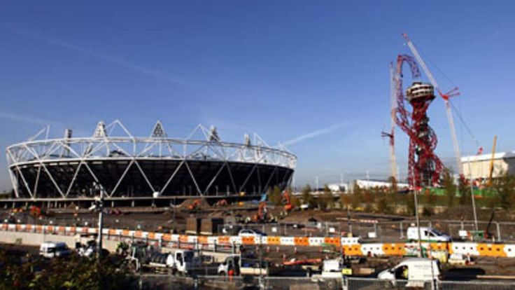 ArcelorMittal Orbit structure at the Olympic Park