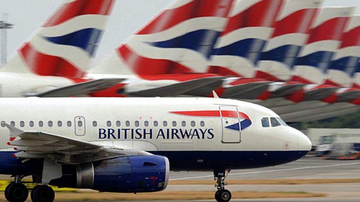 British Airways planes at Heathrow airport