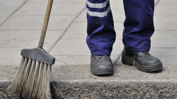 street sweeper, minimum wage