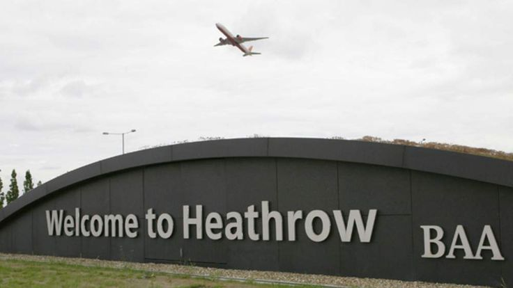 Heathrow Airport Sign