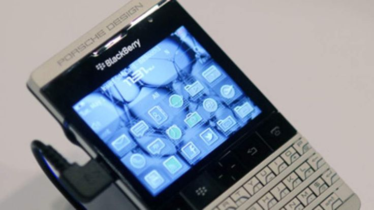The Porsche designed Blackberry