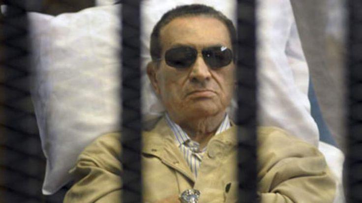 Mubarak was sentenced to life in prison.