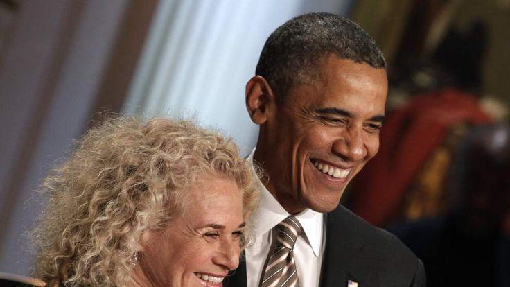 President And Mrs. Obama Host Concert Honoring Carole King
