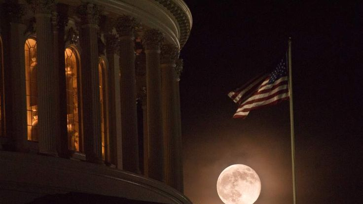 Supermoon seen all over the world