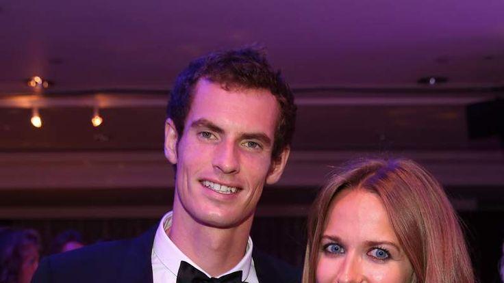 Andy Murray and girlfriend Kim Sears