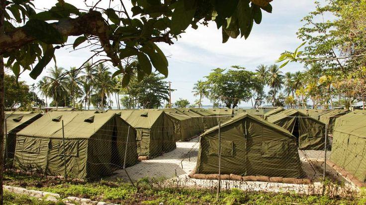 Manus Island Detention Centre in Papua New Guinea