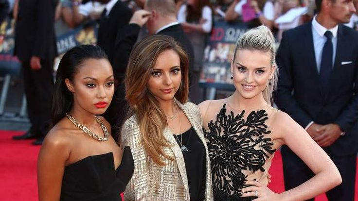 Little Mix at the premiere of One Direction: This Is Us