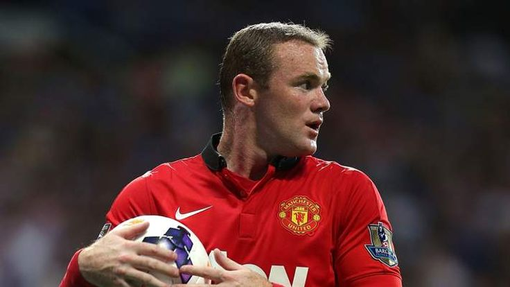 Rooney in action for Manchester United against Chelsea