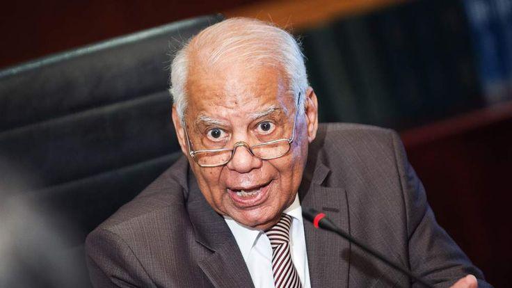 Egypt's interim prime minister Hazem al-Beblawi.