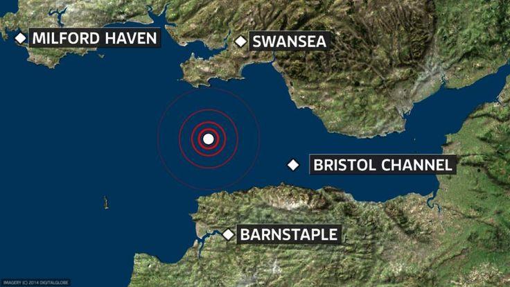 Devon earthquake