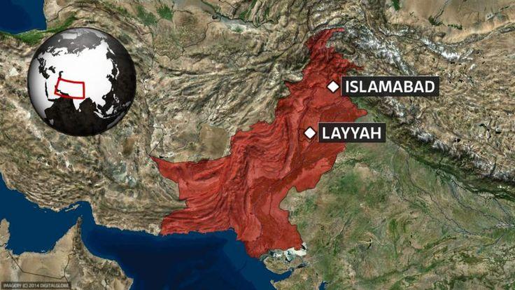 Pakistan map