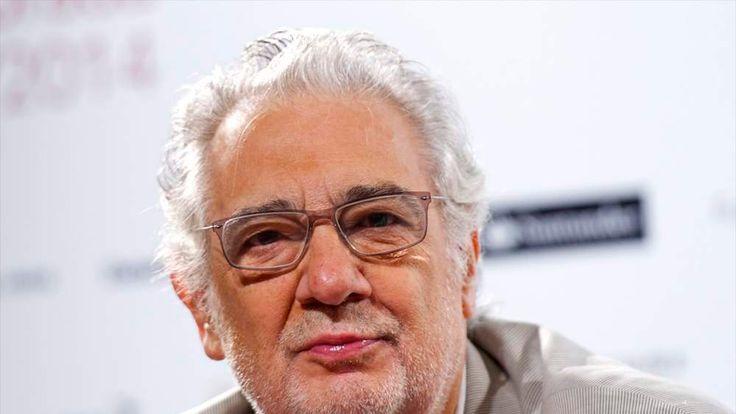 Placido Domingo Press Conference in Madrid