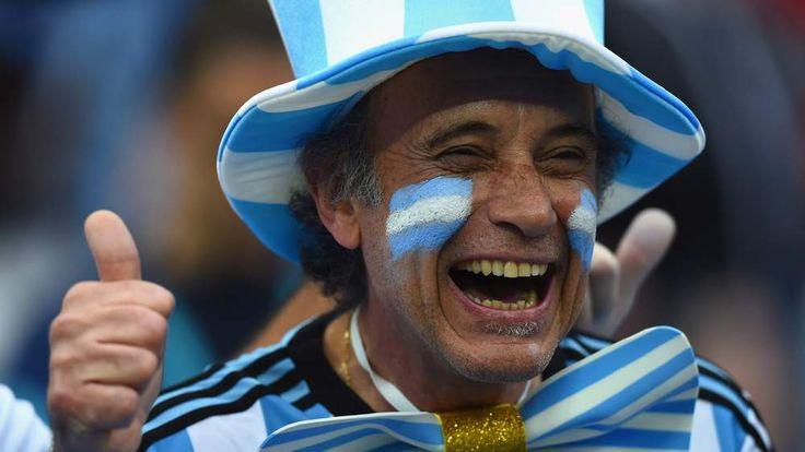 Argentina v Netherlands.