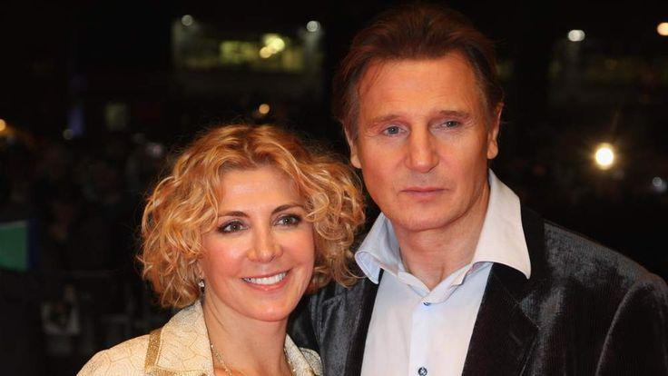 Liam Neeson and Natasha Richardso