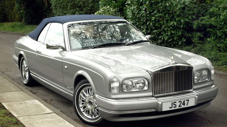 Undated Dreweatts handout photo of a 2002 Rolls Royce Corniche Convertible automatic 'Last of Line' car belonging to Sir Jimmy Savile, which will be sold at auction.