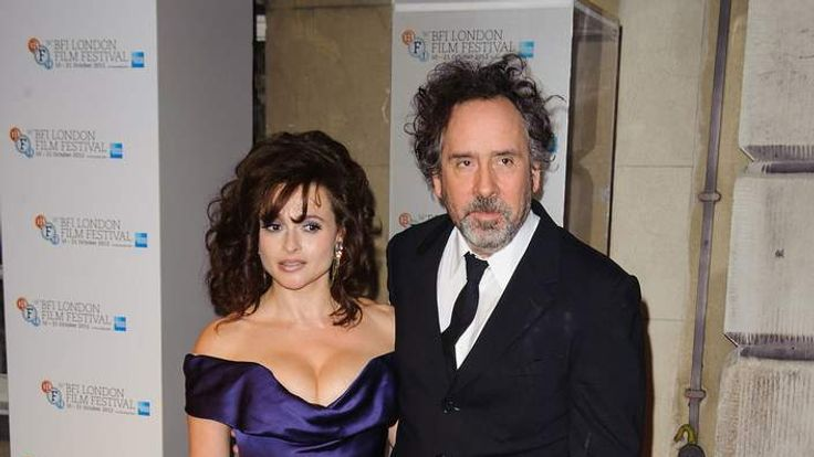 Helena Bonham Carter and Tim Burton at BFI London Film Festival Awards