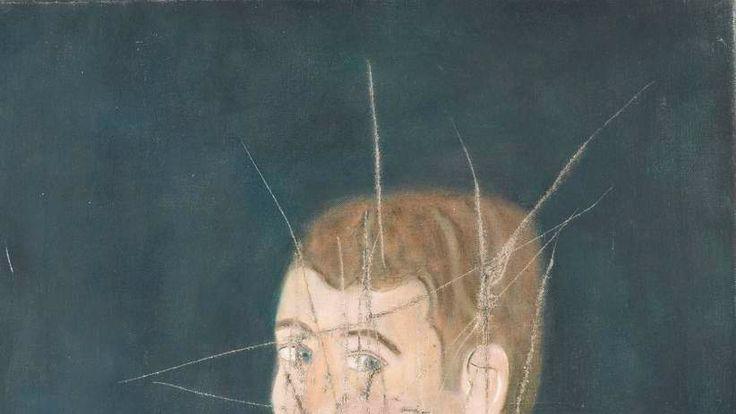 Craigie Aitchison portrait