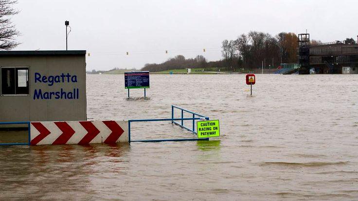 Flooding bad weather Nottingham