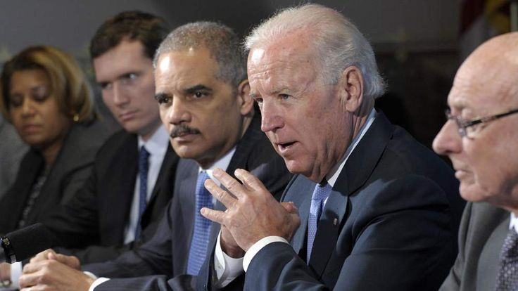 Joe Biden, Eric Holder