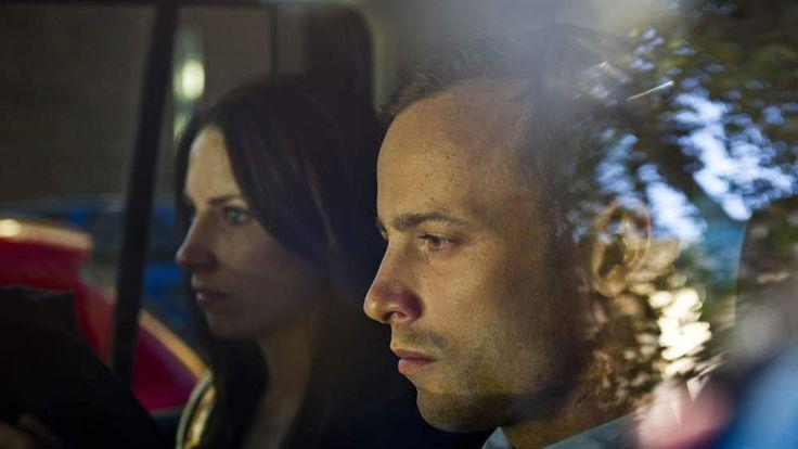 Oscar Pistorius and Aimee Pistorius