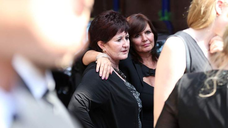 Funeral of Bernie Nolan