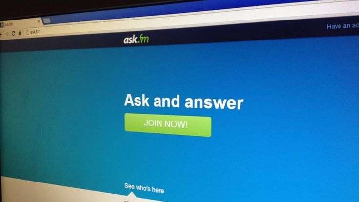 Ask.fm home page